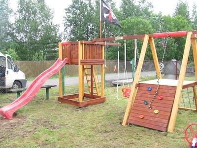 Детская Игровая Площадка Савушка 3 (фото)