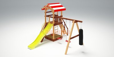 Детская площадка Савушка-4 (фото)