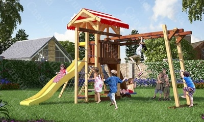 Детская площадка Савушка -10 (фото)