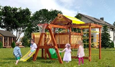 Детская площадка Савушка-Baby - 14 (Play) (фото)