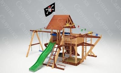 Игровой комплекс Савушка Lux - 6 (фото)
