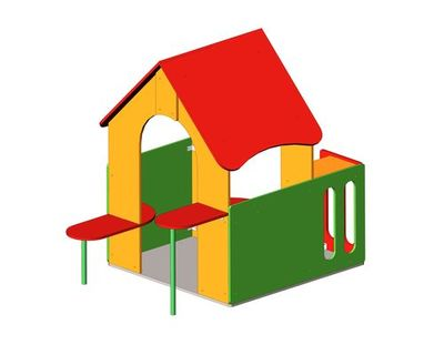 Детский домик ДС-2
