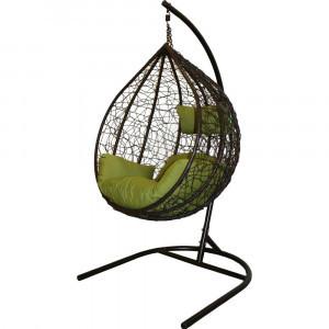 """Подвесное кресло """"Сфера-Лайт"""" из искусственного ротанга."""
