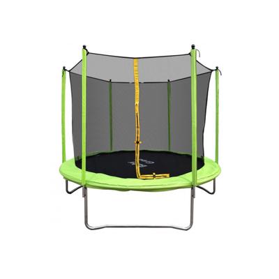 Батут с защитной сеткой Спорт, д=2,4м