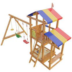 "Детская площадка ""Кирибати"" 12 мест(11мест+горка)"