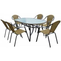 комплект Севилья стол+6 стульев