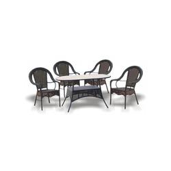 """Набор мебели """"Аликанте"""" овальный стол"""