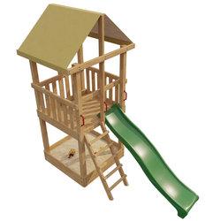 Деревянная детская площадка Раскрась сам Элемент 2