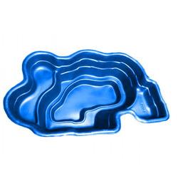 Пруд, 900л синий