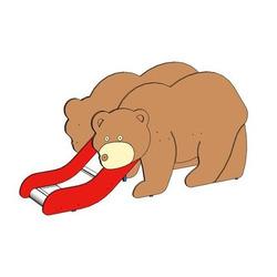 """Горка """"Медведь"""""""