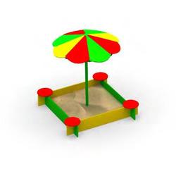 Песочница П-3 с зонтом