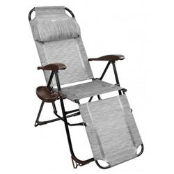 Кресло -шезлонг с полкой КШ3