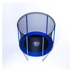 Батут с защитной сеткой спорт д=1,8м